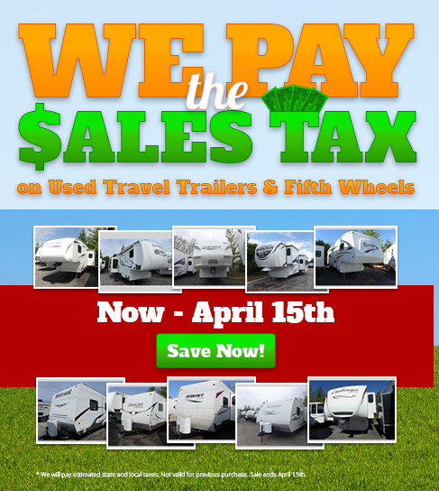 we pay sales tax