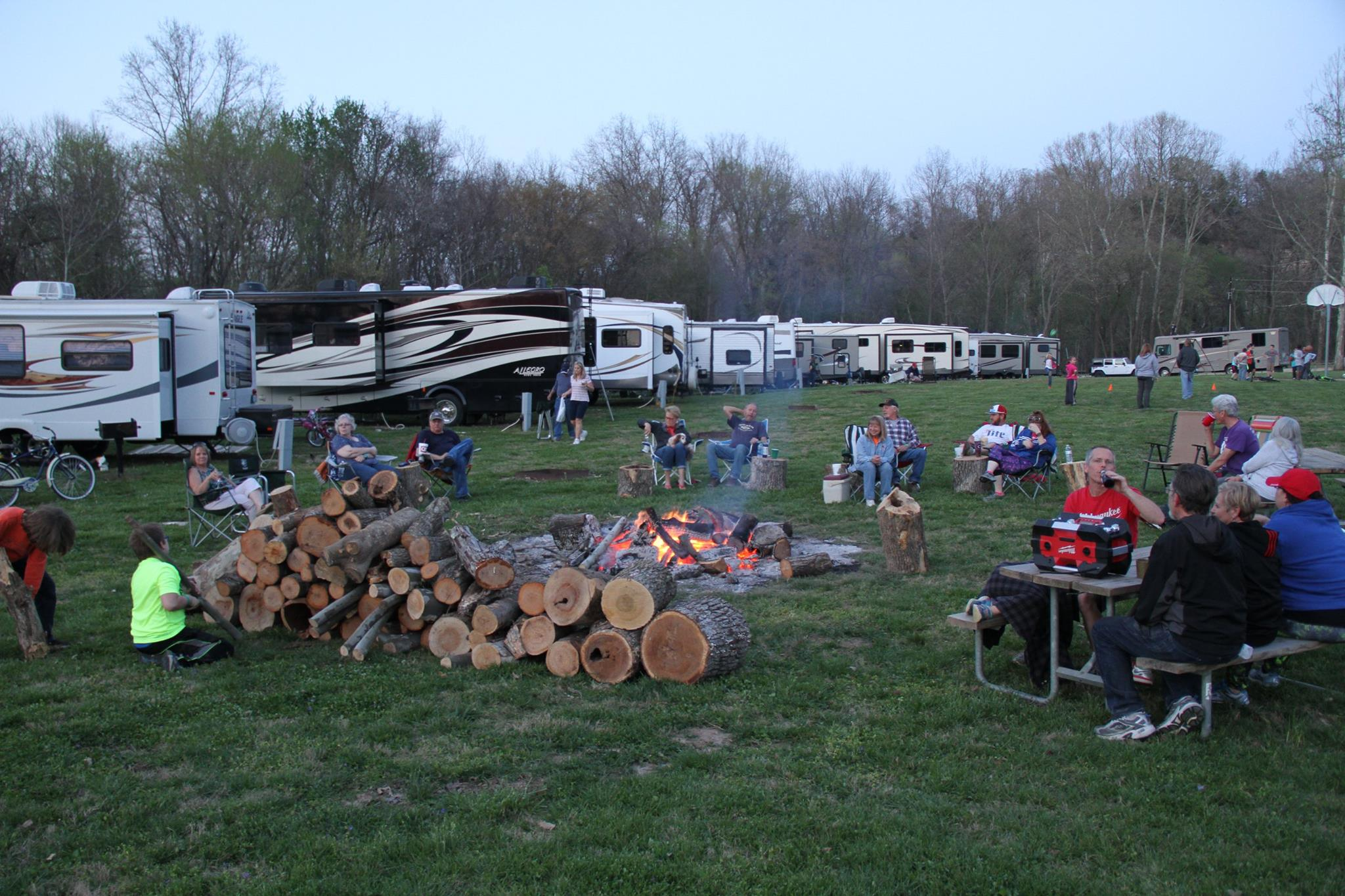 relaxing Byerly RV Campground
