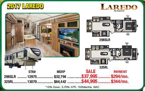 Byerly RV Sale Laredo Fifth Wheel