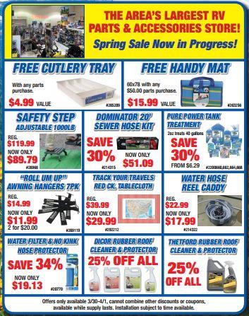 Byerly RV Sale Parts