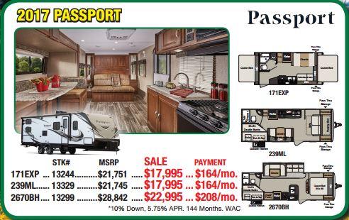 Byerly RV Sale Passport Travel Trailer