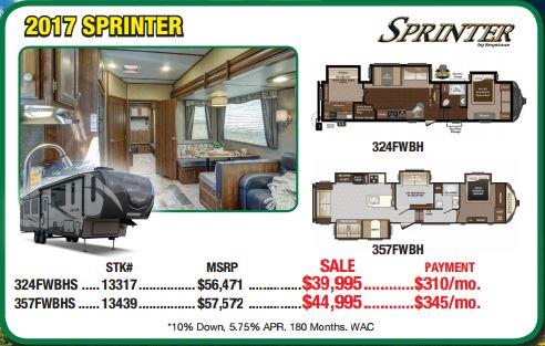 Byerly RV Sale Sprinter Fifth Wheel