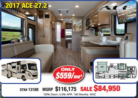 Byerly RV Sale Thor Ace Motorhome