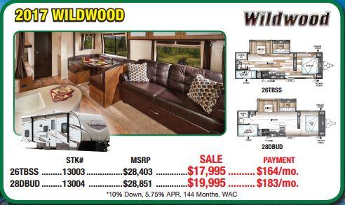 Byerly RV Sale Wildwood Travel Trailer