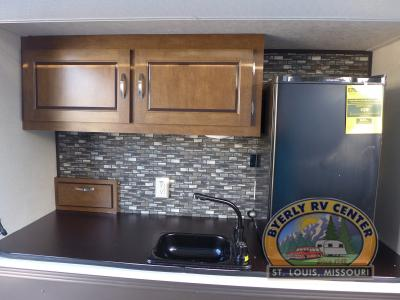 Forest River Wildwood Outdoor kitchen