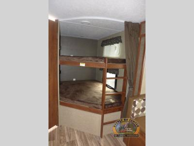 Keystone Passport Bunkhouse Travel Trailer Interior