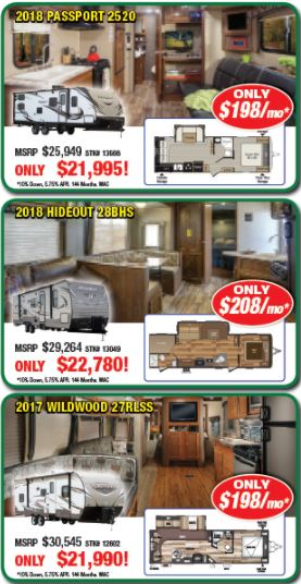 Byerly Customer Appreciation Sale Travel Trailers