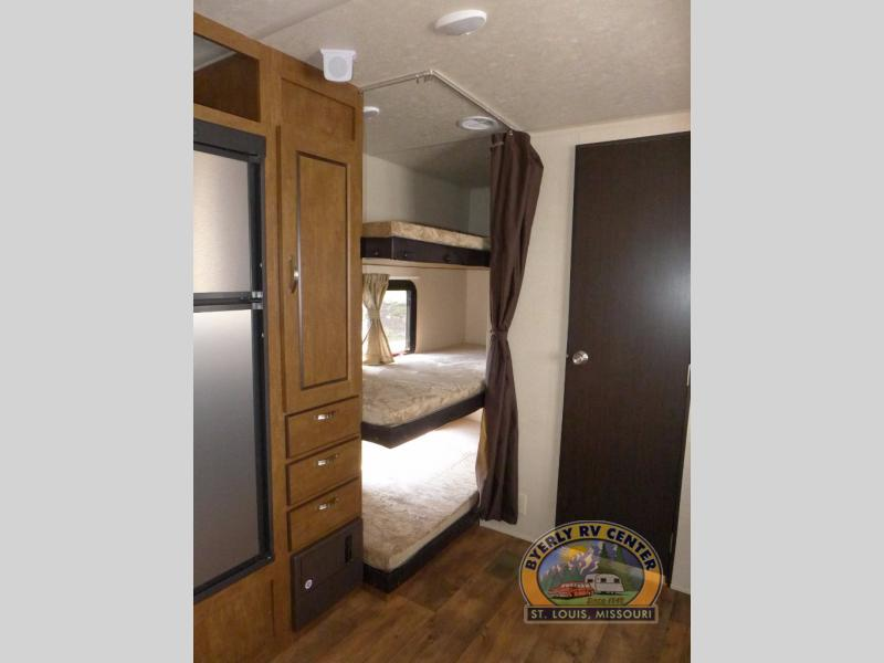 Forest River Wildwood Travel Trailer Bunkbeds