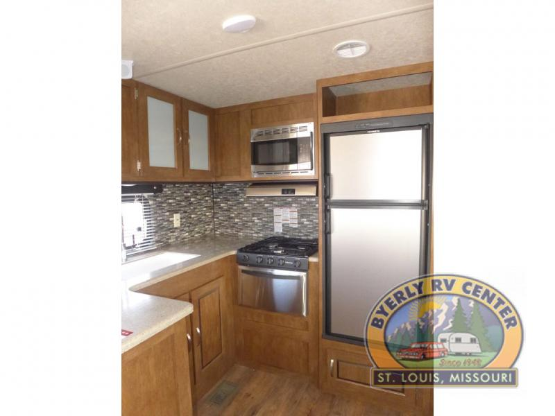 Forest River Wildwood Travel Trailer Kitchen