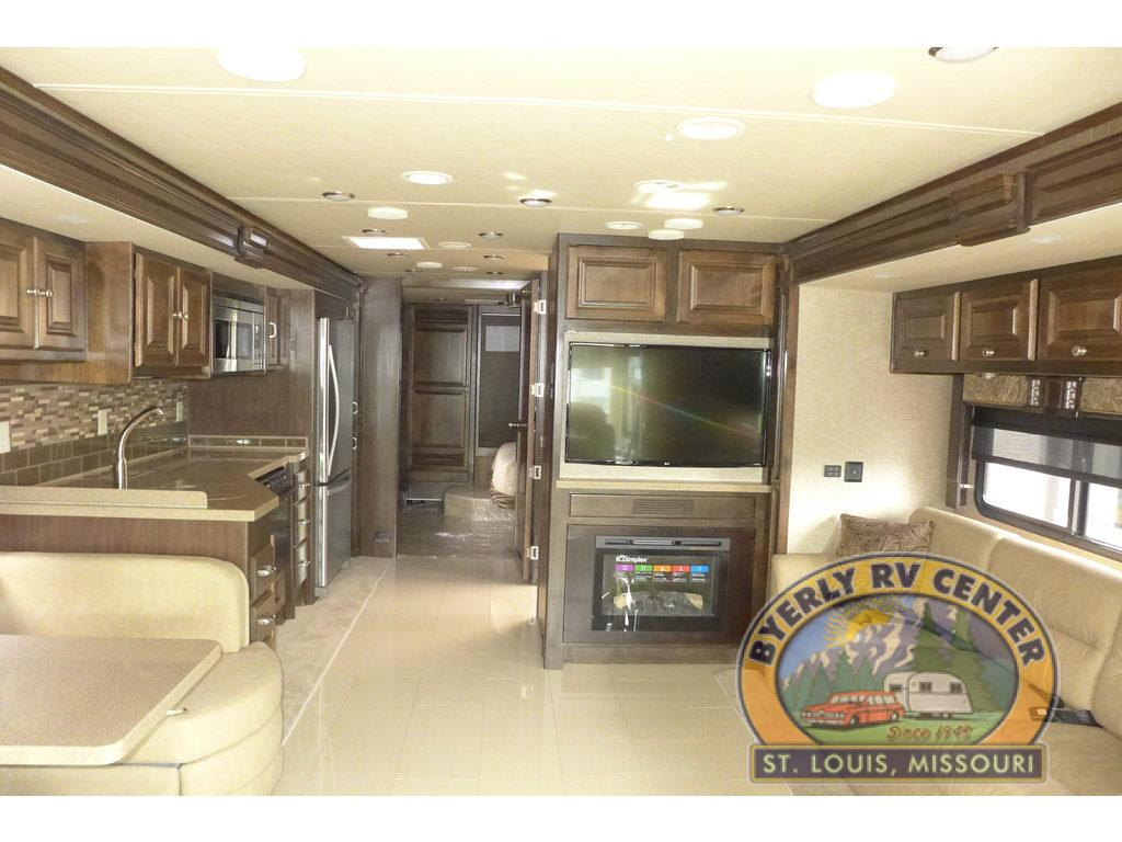 Byerly RV Diesel Motorhome Allegro Red Interior