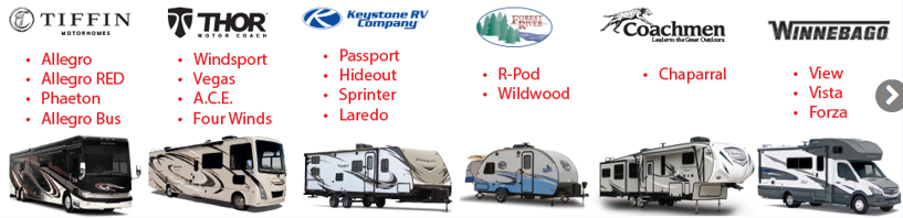 Byerly RV Early Bird Expo Brands