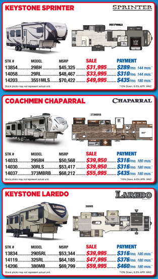 Byerly RV Beat The Rush Fifth Wheel Sale