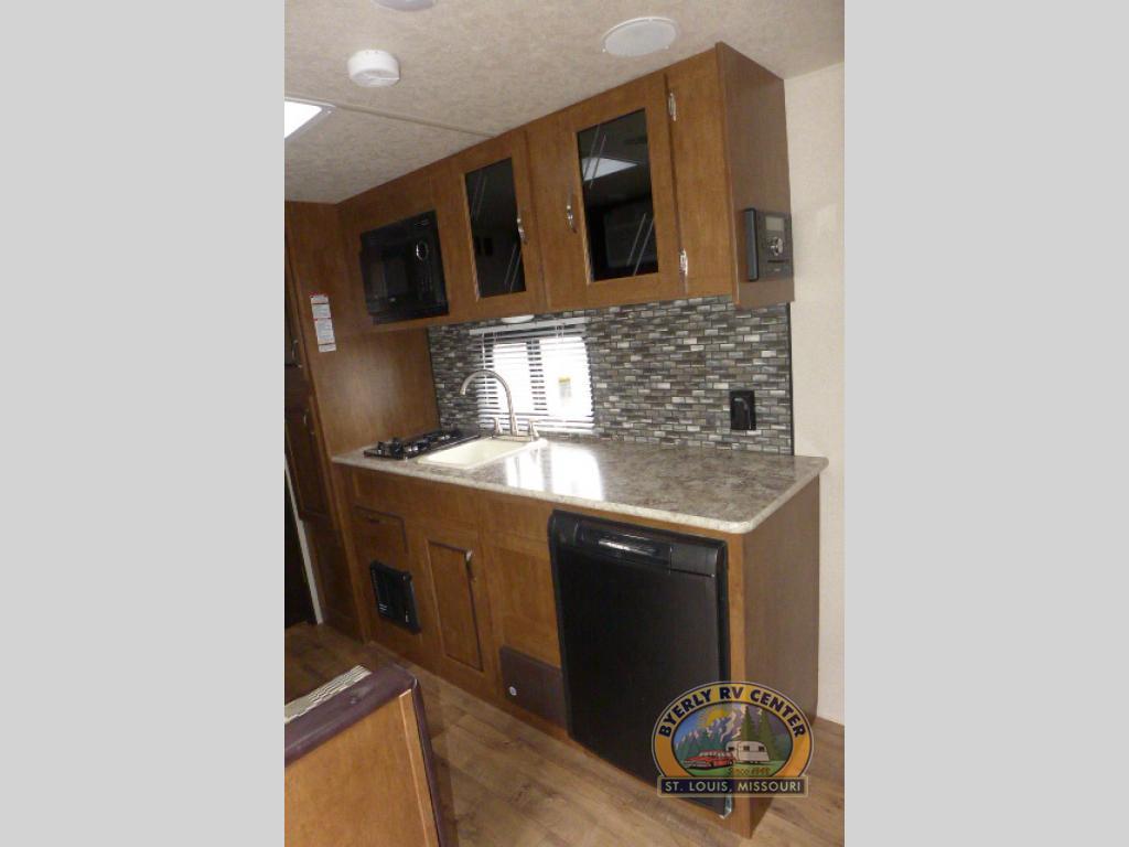 Forest River Wildwood Travel Trailer Kitchen