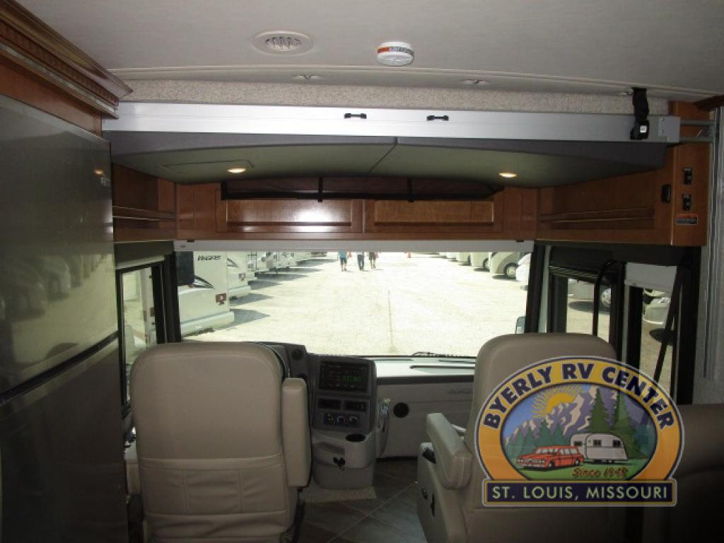 Winnebago Forza Review Class A Diesel Motorhome Overhead Bunk