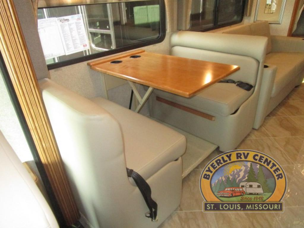 Winnebago Forza Review Class A Diesel Motorhome Seating