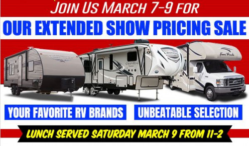 Extended Show Pricing Sale
