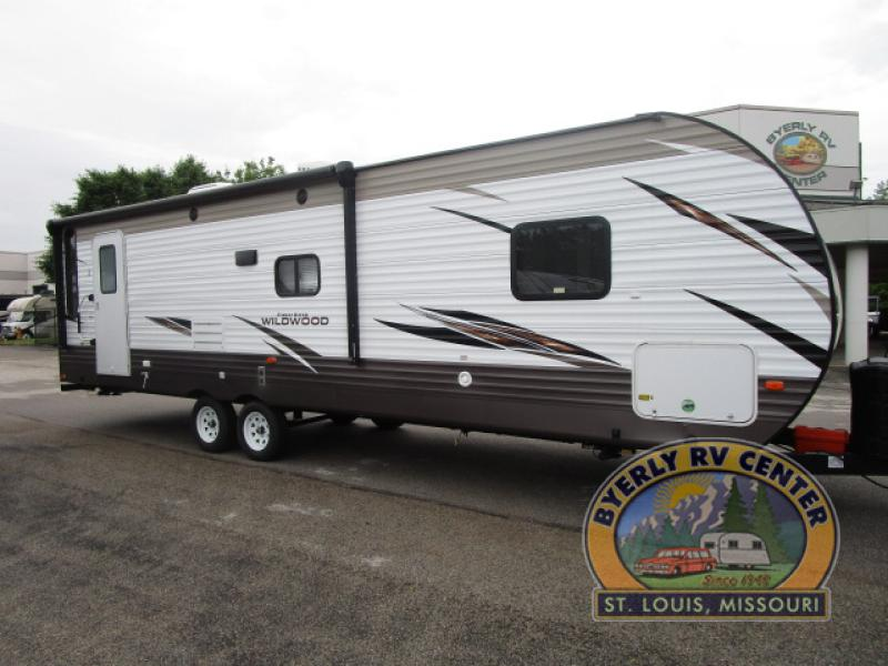 Forest River Wildwood Travel Trailer main