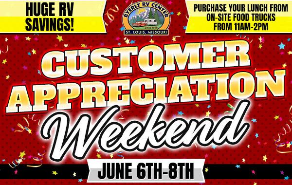 Byerly Customer Appreciation RV Sale Event Banner