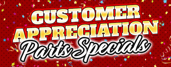 Customer Appreciation Specials Banner