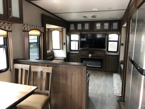 Entertain the whole family in the Keystone Laredo 342RD 5th Wheel at Byerly RV in Eureka, MO