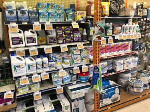 RV Toilet Chemicals and Supplies are on Sale at Byerly RV in St. Louis, Missouri during the month of August, 2019