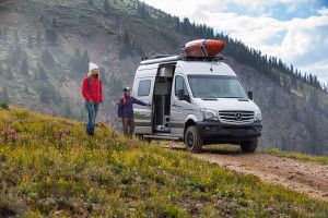 Travel down any road with the Winnebago Revel. The ultimate 4x4 RV, available at Byerly RV.