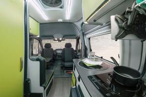 The 2020 Winnebago Revel features everything you need in an RV, with the comforts of a Mercedes-Benz chassis.