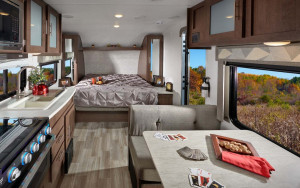 Forest River Wildwood 171RBXL features everything a couple needs in an RV at under 4,000lbs