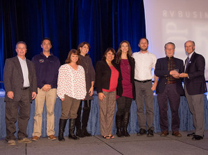 The RVBusiness magazine 2018 Top 50 Dealers Awards reception honored North American RV dealers on Wed., Nov. 7, 2018 in Las Vegas, NV