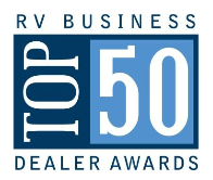 The process for determining the RVBusiness Top 50 Awards is an involved one, beginning with harvesting qualified nominees from RV manufacturers who nominated dealer partners based not just on sales volume but whom they felt exemplify RVB Top 50 qualities and practices