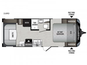 Keystone Passport is the best selling lightweight travel trailer in the industry. See one at Byerly RV in St. Louis, MO