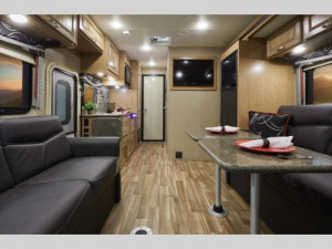 The Thor Outlaw 29J motorhome is perfect for tailgaiting. Rent one at Byerly RV