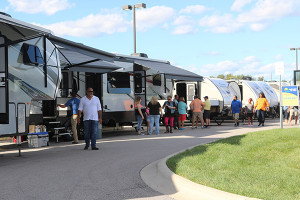 Check out the Byerly RV display and browse the huge selection of RV's at great prices at the Fall RV Show