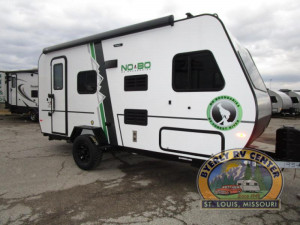 Off-road tires, roof racks, thule awning!  All available on the No Boundaries 16.8 by Forest River. See one at Byerly RV in St. Louis, MO