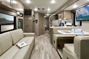 Class A motorhome with bunks for under $100k