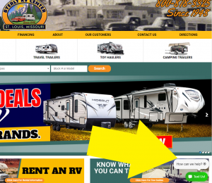 Connect with byerly rv