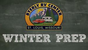 Winter RV Prep